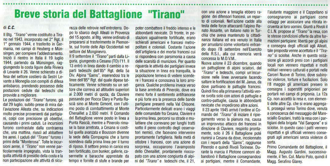 storia del Tirano