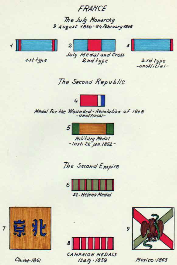 MEDAL RIBBONS of the WORLD