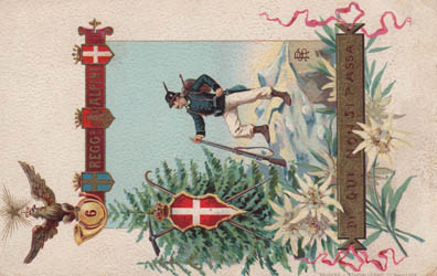 cartoline storiche alpini