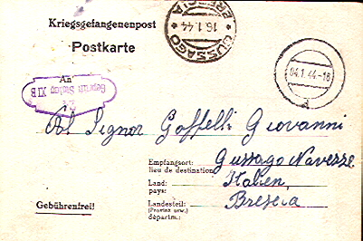 Lettere di prigionieri di guerra