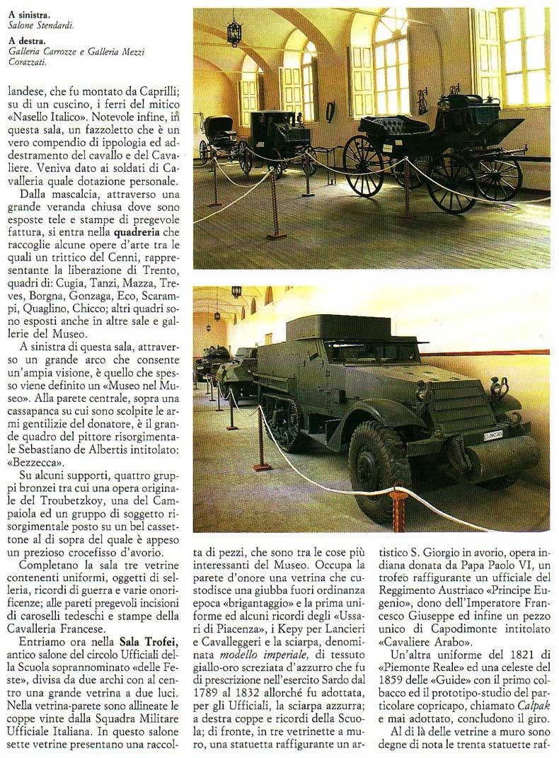 Il museo storico della Cavalleria