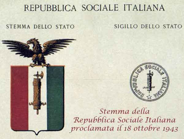 Stemma della Repubblica Sociale Italiana